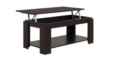 mesa centro elevable wengue